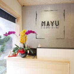 MAYU Japanese Esthetic Spa(マユ ジャパ二ーズ エステティック スパ)フロント